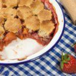 pandowdy fraise pomme rhubarbe 150x150 Index des recettes