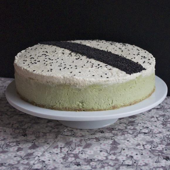 sublime cheesecake thé vert matcha