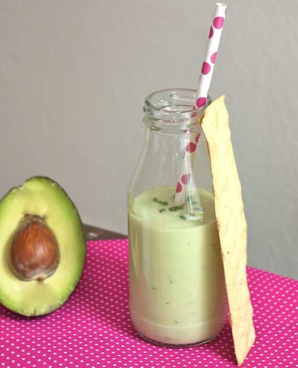 veloute glace avocat