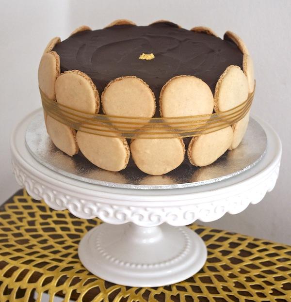 Gateau chocolat praline croustillant
