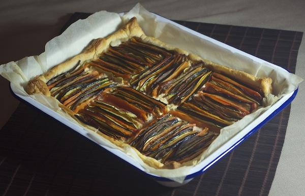 tarte tian graphique legumes chevre