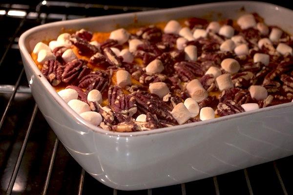 puree-patates-douces-noix-pecan-marshmallows
