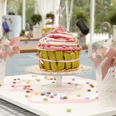 Le cupcake géant