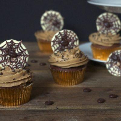 Parfaits cupcakes chocolat, ganache montée au café