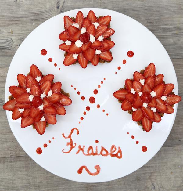 tarte fraises revisitee anne sophie meilleur patissier Le Meilleur Pâtissier Semaine 4 – La tarte aux fraises