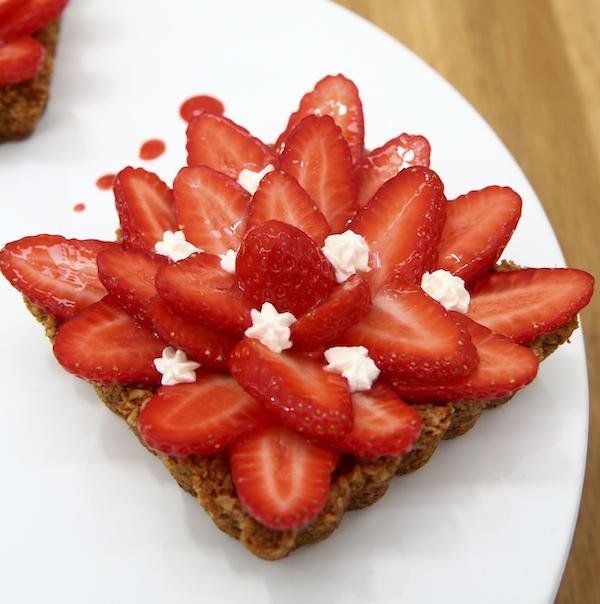 tarte fraises revisitee anne sophie Le Meilleur Pâtissier Semaine 4 – La tarte aux fraises