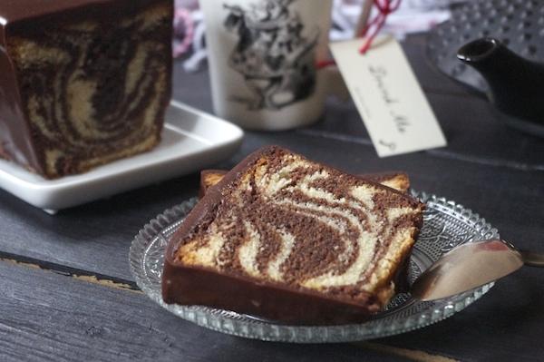 Parfait cake marbré de François Perret