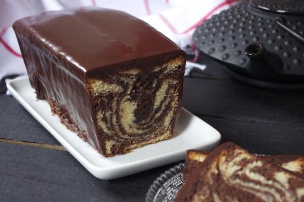 cake marbre shangri la Teatime au Shangri La Cake marbré cacao vanille de François Perret