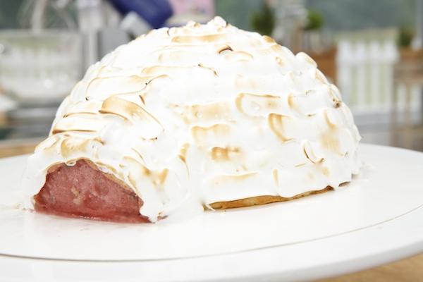 omelette norvegienne igloo meilleur patissier anne sophie Le Meilleur Pâtissier Semaine 6 – Lomelette norvégienne