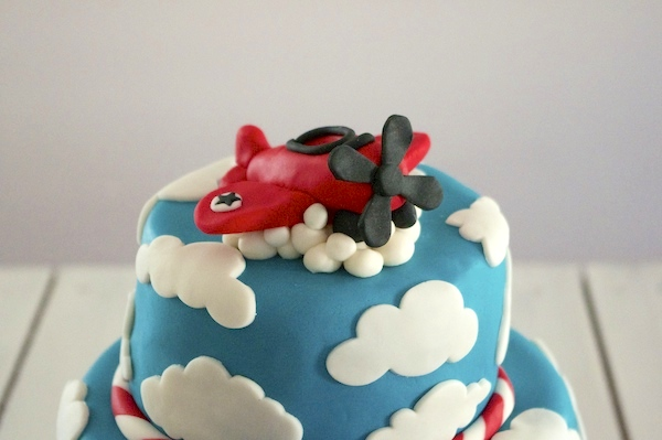gateau avion nuages pate sucre fashion cooking