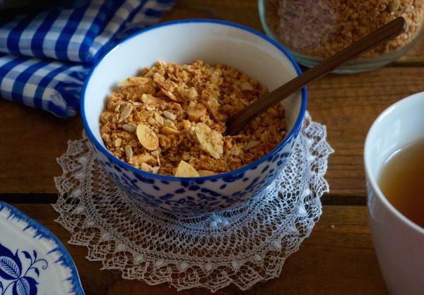 bol granola noix