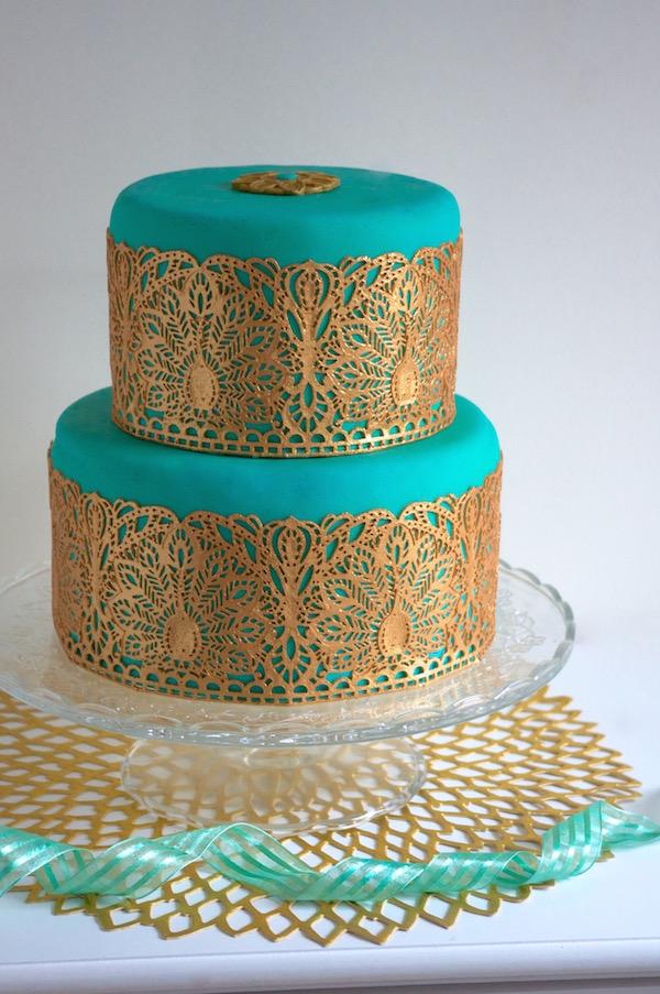 emerald-gold-cake