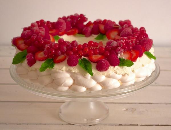 Dessert noel fruits