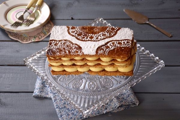 Parfait mille feuille   Fashion Cooking
