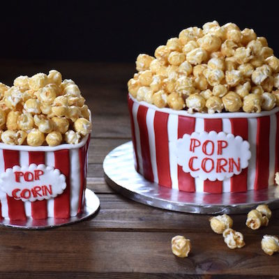 Gâteau boîte de Pop-Corn