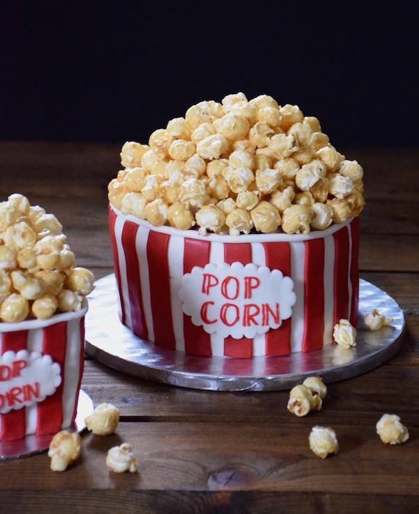 Decoration Gateau Avec Du Popcorn