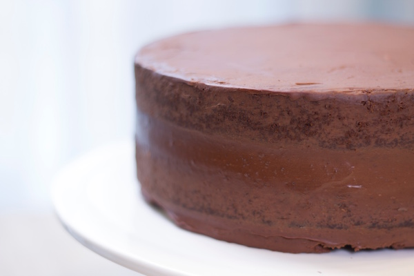 Recette Ganache Nutella Pour Cake Design : Fashion Cooking Gateau chocolat-ganache - Fashion Cooking