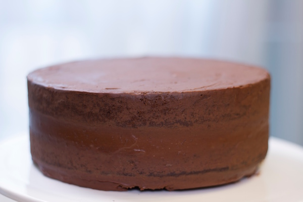 Cake Design Recette Base : Gateau chocolat-ganache - Fashion Cooking