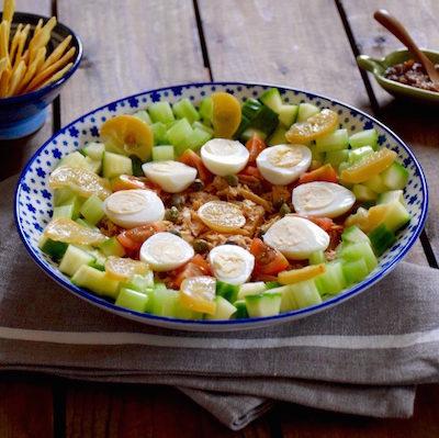 Assiette tunisienne