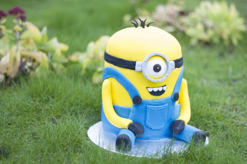 Gateau Minion 3D