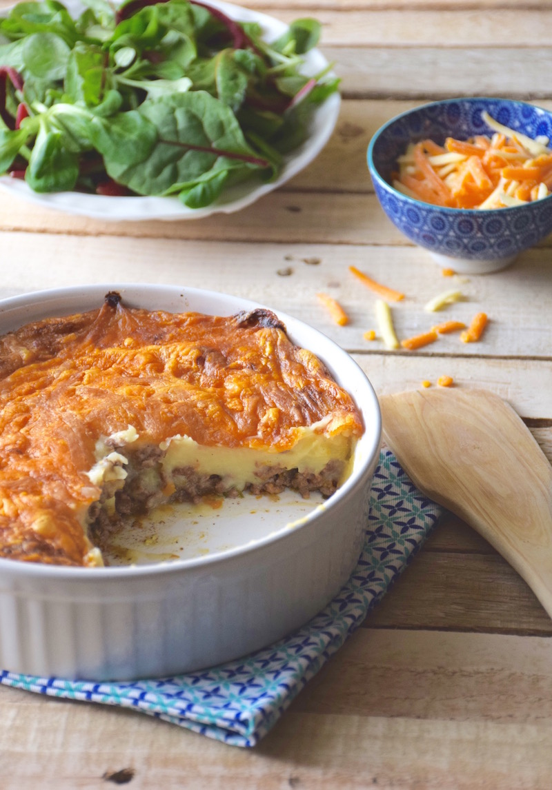 Hachis parmentier (traditional French sheperd's pie)
