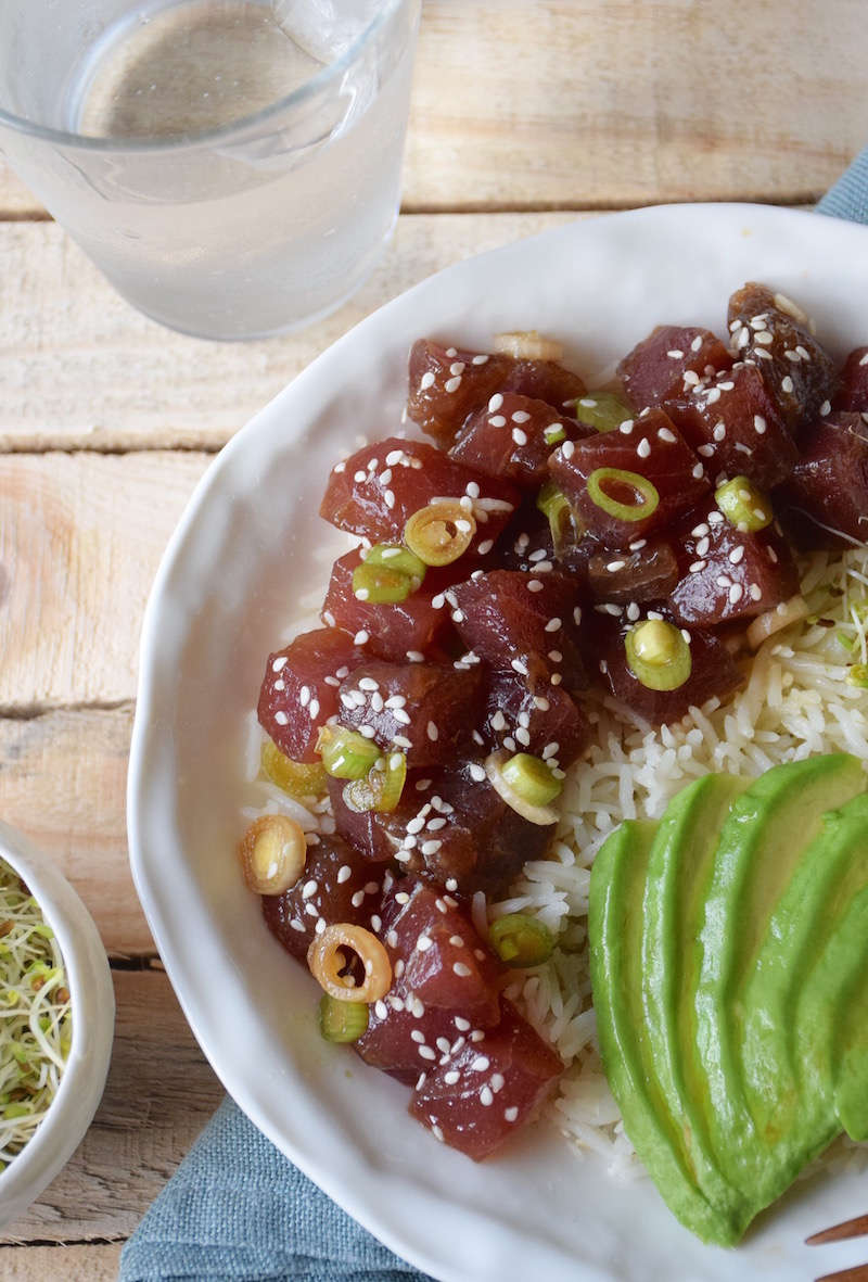 Hawaii poke bowl