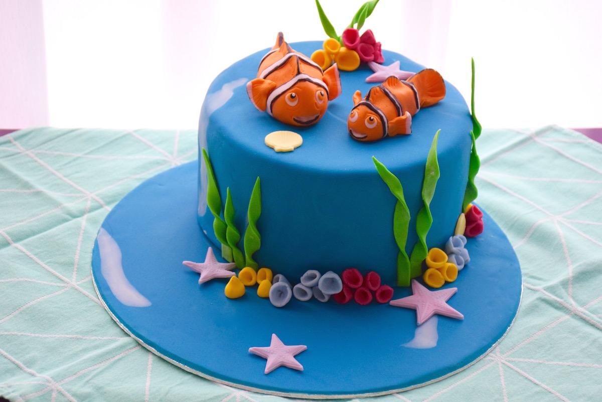 How To Make Nemo Cake Decorations