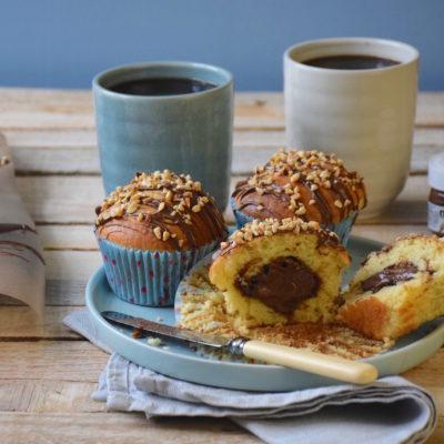Muffins cœur de Nutella