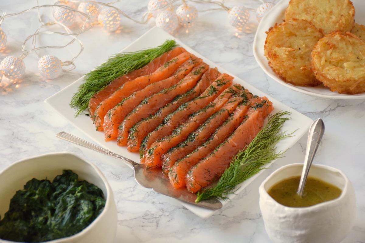 Parfait saumon Gravlax