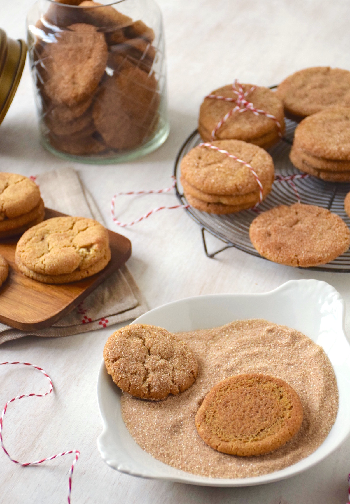 Snickerdoodles, biscuits cannelle