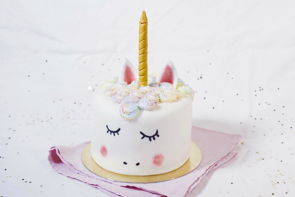 Gâteau Licorne Facile Anne Sophie Fashion Cooking