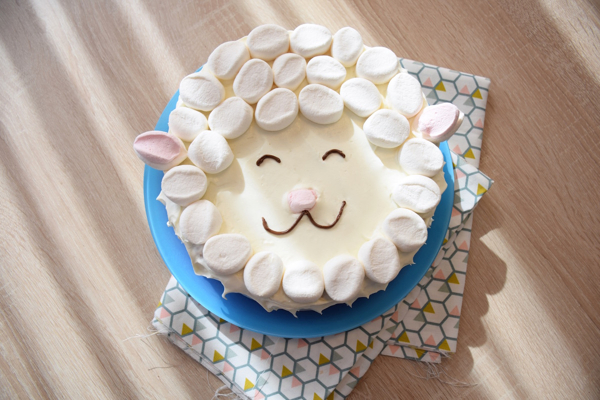 Gateau Mouton En Chamallows Super Facile Un Concentre De Tendresse
