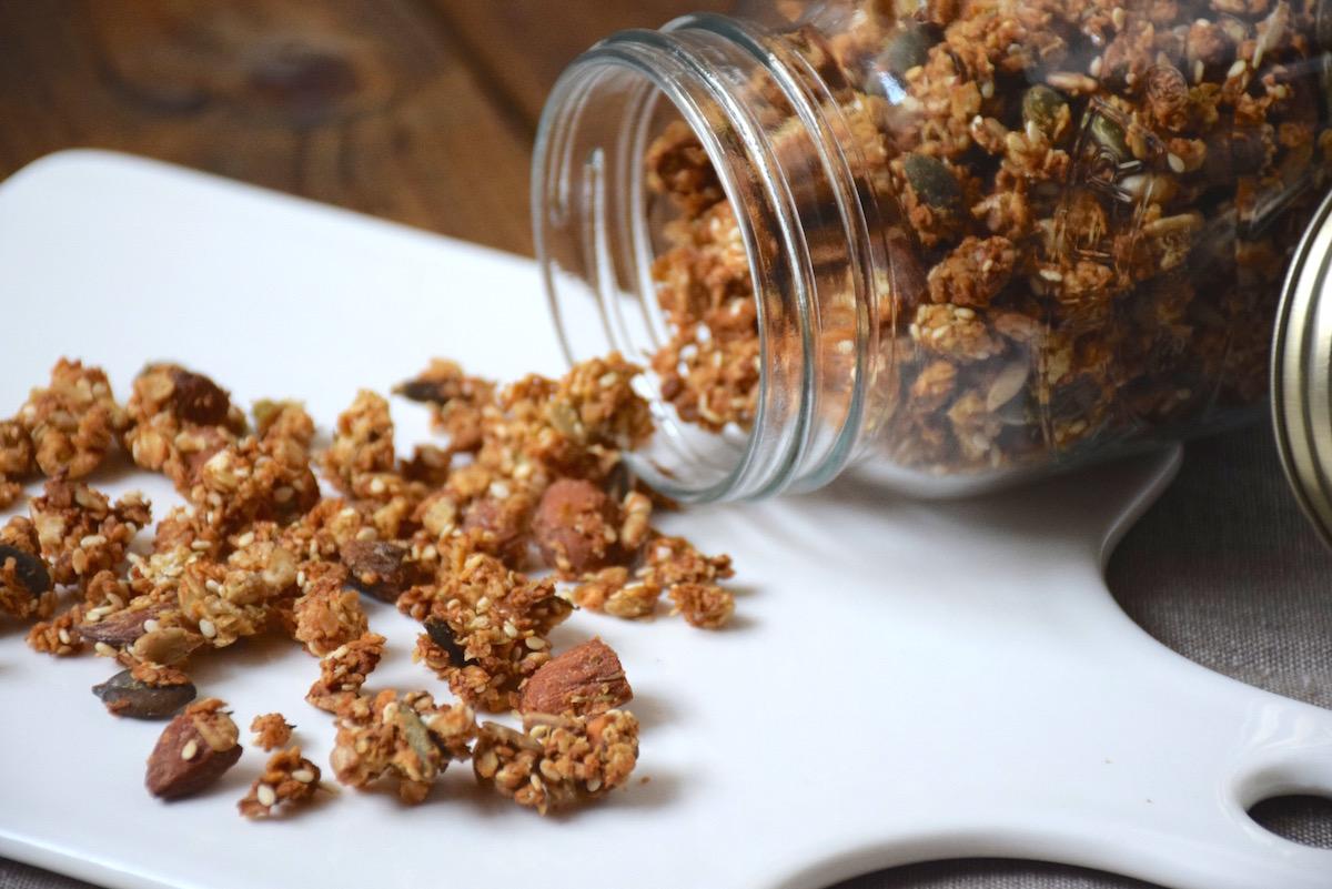Granola salé idéal apéritif