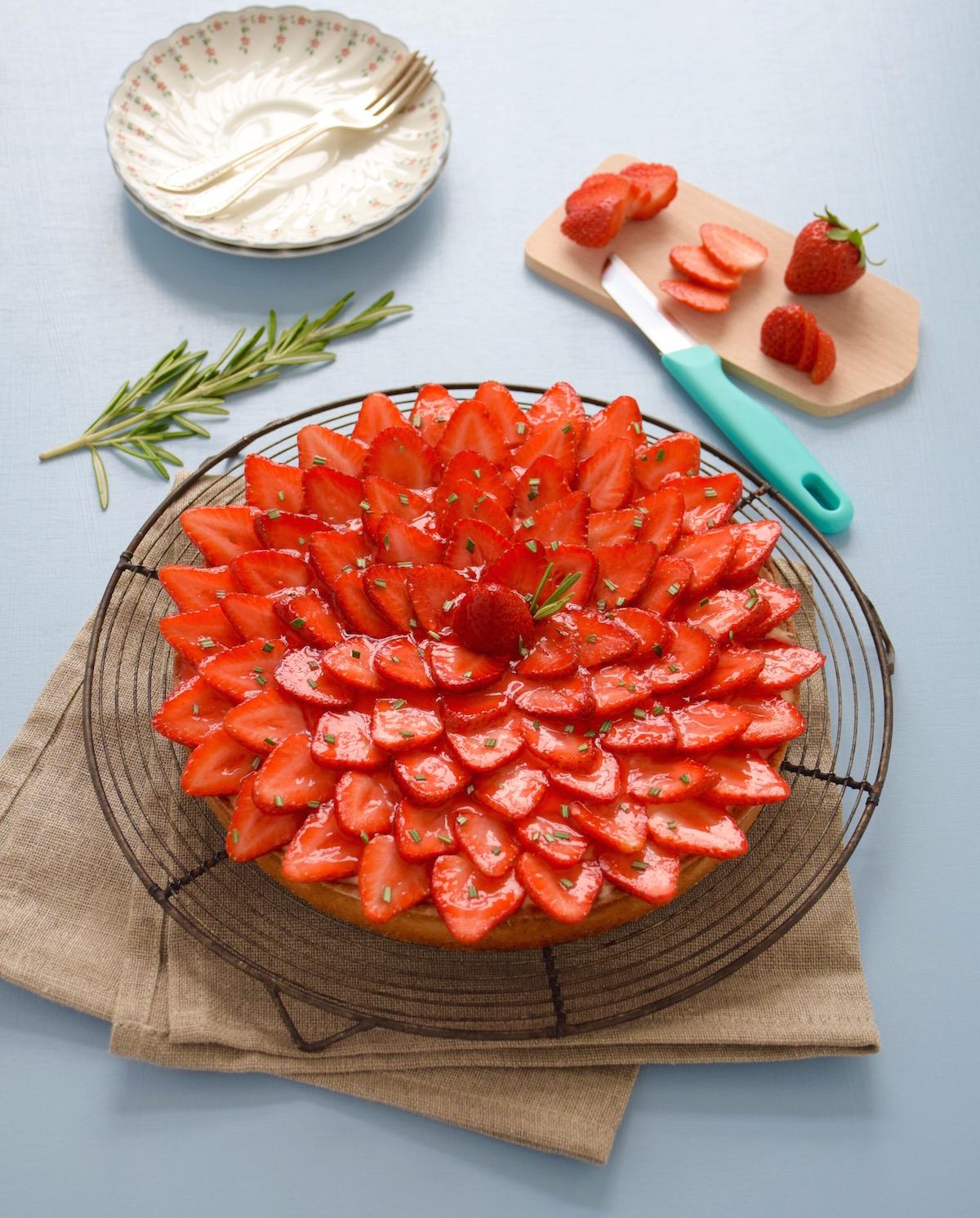 Parfaite tarte aux fraises