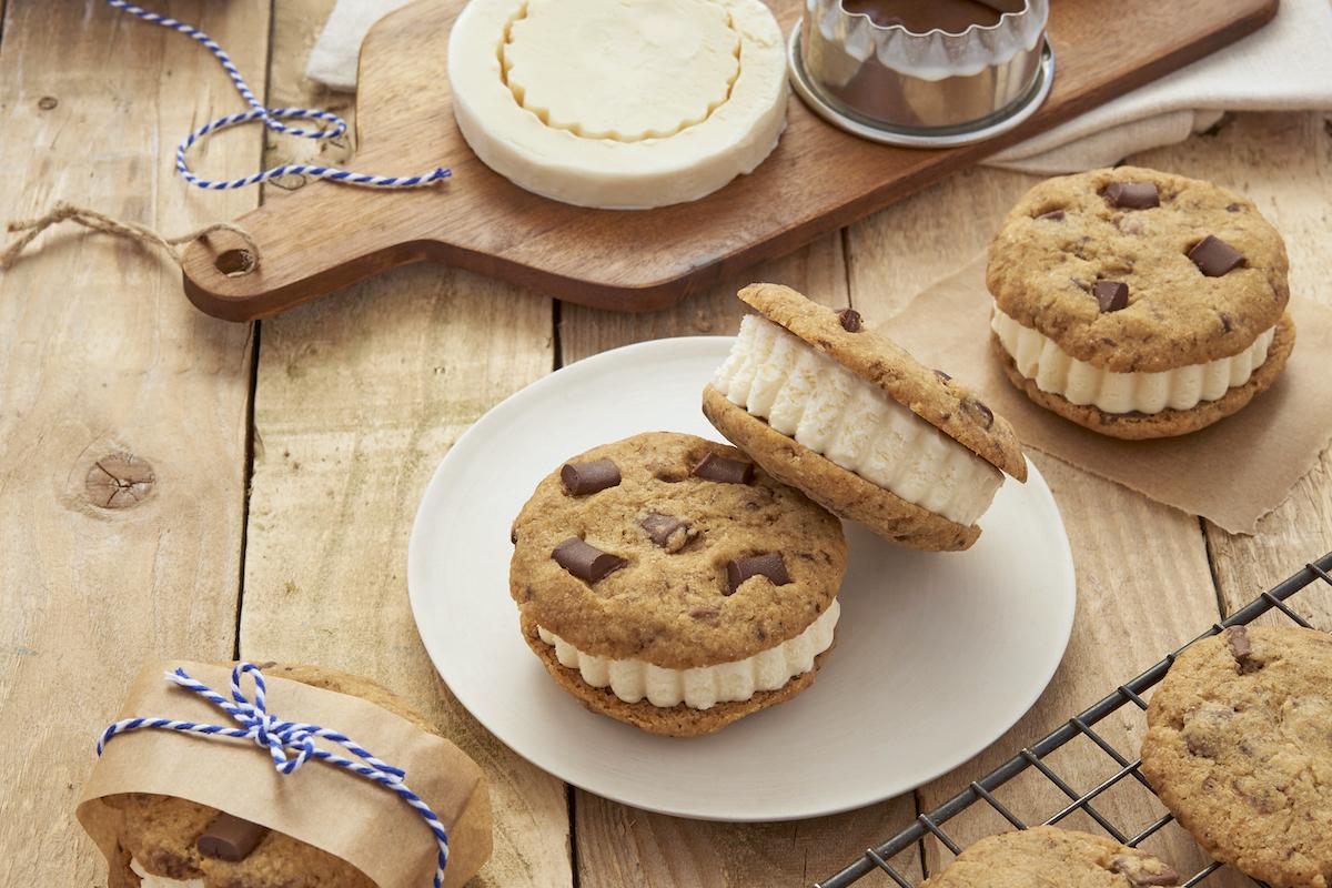 Sandwiches de cookies glacés