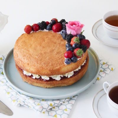 So British – Victoria sponge cake