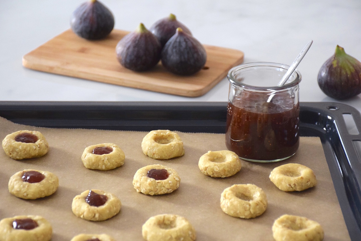 Biscuits avoine figue