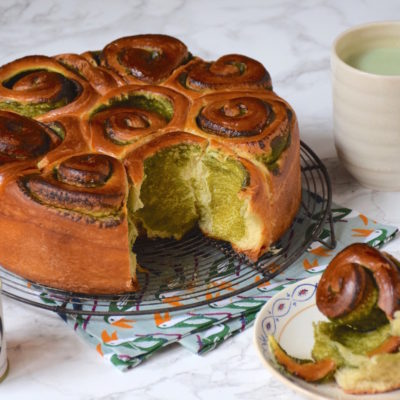 Chinois ou brioche roulée? – Brioche thé vert matcha