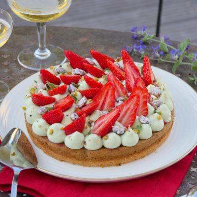 Des fraises & du gâteau de compèt'! – Fantastik fraise pistache de Michalak