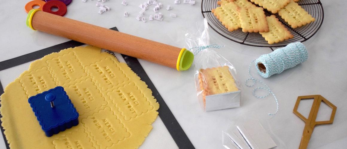 Le matériel pour réussir de parfaits biscuits personnalisés!