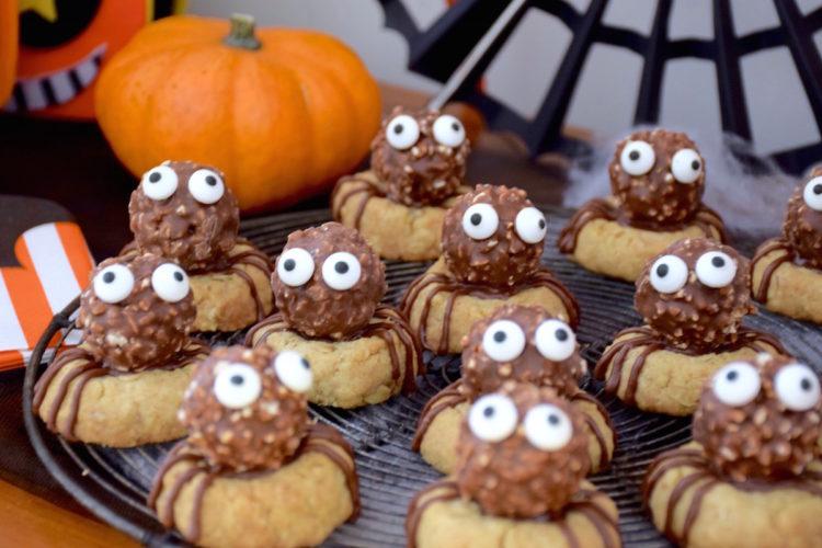 Halloween #1 – Biscuits araignées d'Halloween