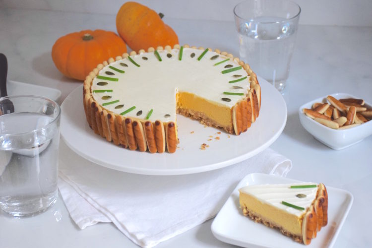 Apéro chic – Cheesecake salé au potiron