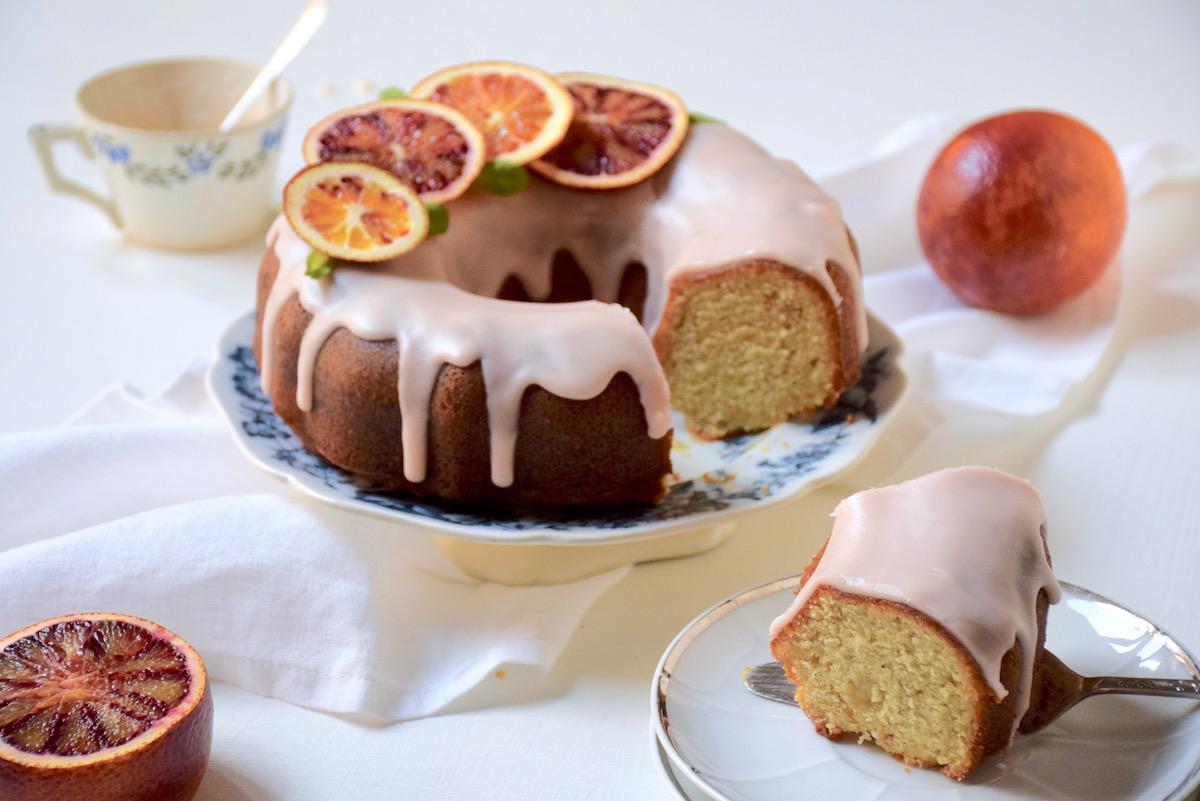 Cake aoranges sanguines