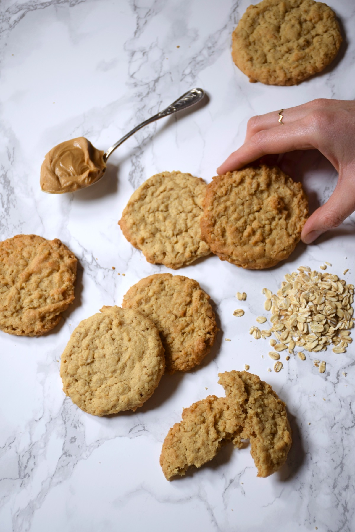 Cookies beurre de cacahuète avoine