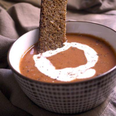 Parmentier de patates douces aux légumes & Soupe de betteraves