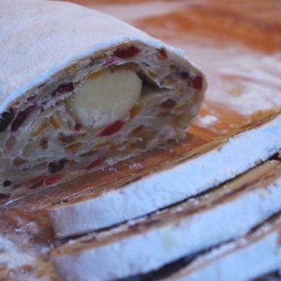 Stollen, pain de Noël allemand
