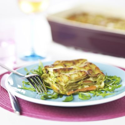Lasagnes végétariennes aux légumes et parmesan