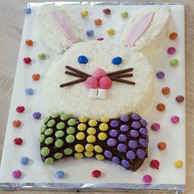 Gâteau tête de lapin