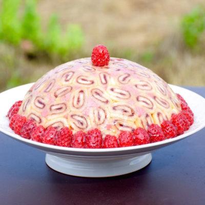 Raspberry Charlotte royale