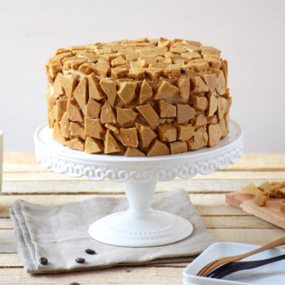 Blum's Coffee Crunch Cake (honeycomb au café)